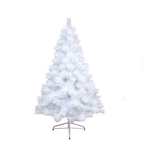Acan Árbol de Navidad Artificial Blanco de 180 cm