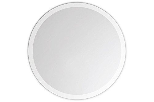 Lindner & Koch - runder Wandspiegel, 20cm Durchmesser, gefast, mit Wandhalterung