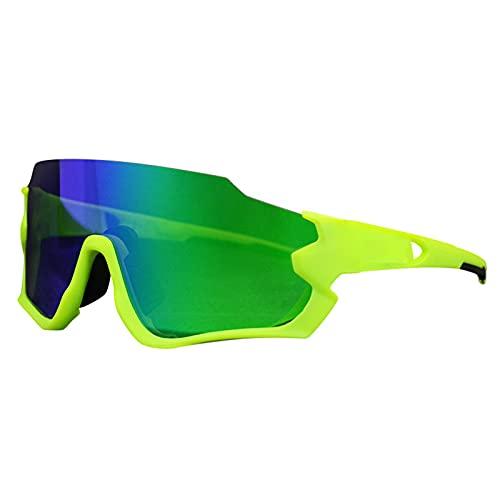 CYYMY Gafas de Bicicleta de Carretera, Accesorios, Gafas de Ciclismo Gafas de Sol polarizadas para Hombres y Mujeres, Gafas de Sol Deportivas para Baloncesto, Pesca, esquí,B