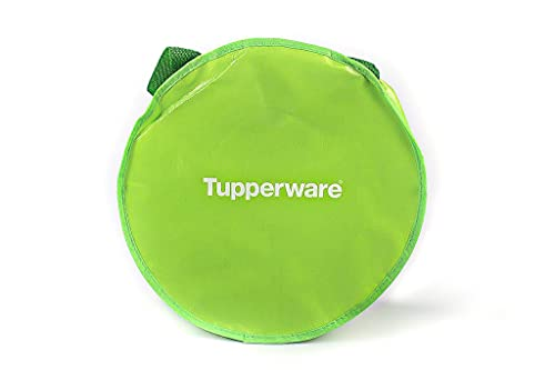 TUPPERWARE Tasche grün rund