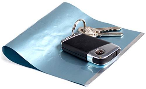 SurfLogic 59146 Candado Guarda Llaves/Key Lock, Plateado, XL