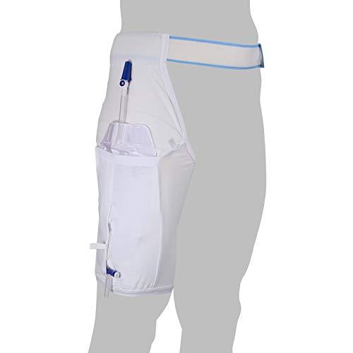 Einbeinhose GHC Premium für Beinbeutel - Baumwollmischgewebe - Größe XL Hüftumfang 98-120 cm - Waschbar - PZN 09080472