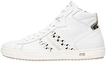 Nero Giardini P717273D Sneakers Alte Donna in Pelle E Tela