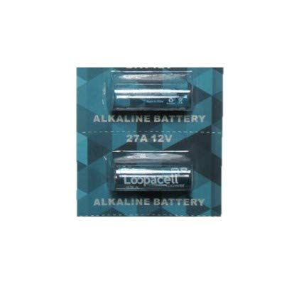 Loopacell 12 Volt Alkaline Batteries MN27 A27 27A 2 Pack