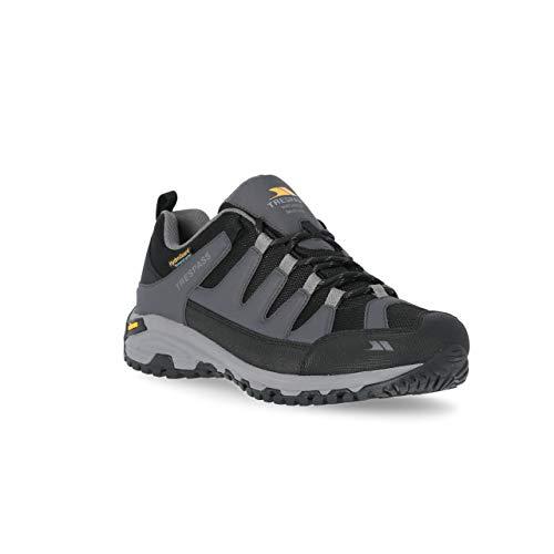 Trespass Men's CARDRONA II Rock Climbing Shoe, Dark Grey, 9 UK