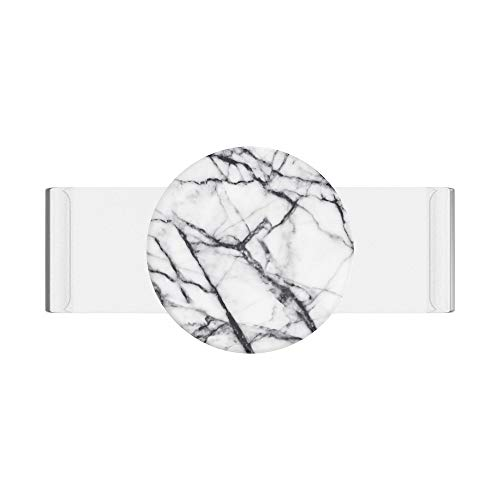 PopSockets PopSlide - PopGrip Non Adesiva per Le Custodie in Silicone iPhone 11 - Clear as Day