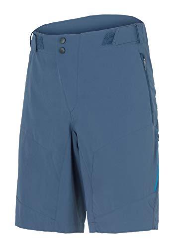 Ziener Herren CENZO X-FUNCTION man (shorts) Fahrrad-Shorts/Rad-Hose mit Innenhose - Mountainbike/Outdoor/Freizeit - atmungsaktiv|schnelltrocknend|gepolstert