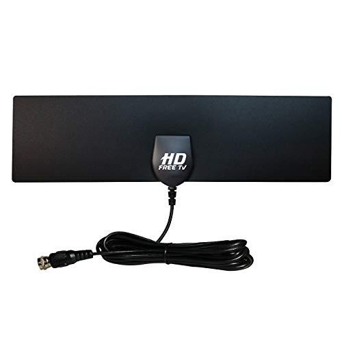 HD Free TV Antenna, Over Air Digital HDTV Amplified Indoor Outdoor...