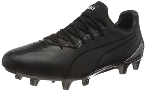 PUMA King Platinum FG/AG, Zapatillas de fútbol Hombre, Negro Black White, 42 EU