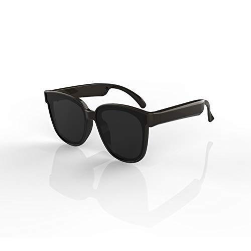 Gafas de sol inteligentes para hombre, auriculares inalámbricos con Bluetooth para conducción ósea, escucha música y llamadas