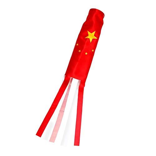Windsack Garten Wetterfahne Balkon Windspiel, Glückbringer - 140cm China