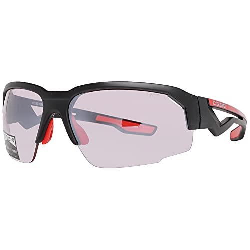 Cébé Hilldrop Gafas de sol Adultos unisex Matt Black Shiny Red...