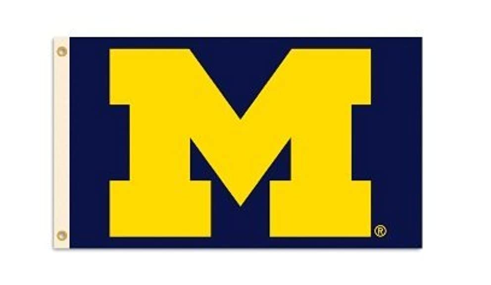 Michigan Wolverines 3 Ft. X 5 Ft. Flag W/Grommets Michigan Wolverines 3 Ft. X 5 Ft. Flag W/Grommets