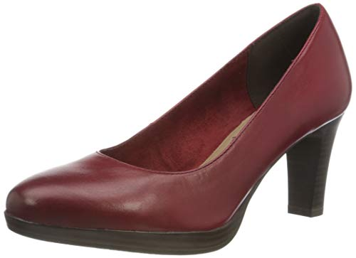 Tamaris Damen Pumps, rot, 40 EU