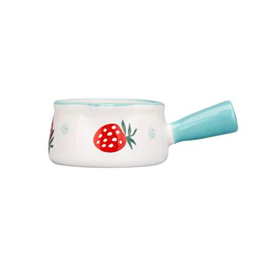 ZPEE Utensilio de Gadgets de Cocina Creamer, jarros de cerámica pequeña Jarra de Leche Salsa Creamer, Jarabe de café Tarro Servidor inmersión Cuencos 50ml / 1.69oz (2pack) Salseros/Tazones de Salsa