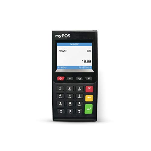 MyPos Go ! Terminale Bancomat con SIM dati interna per Accettare tutti i tipi di pagamento