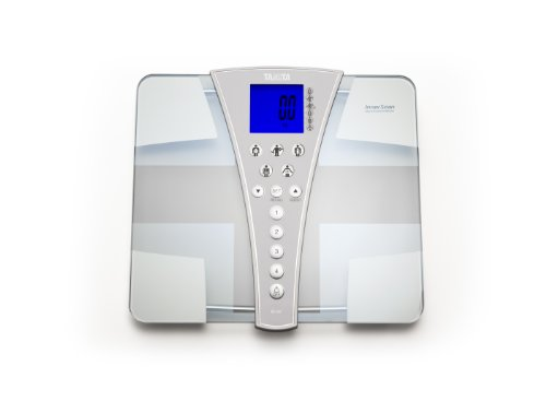 Tanita BC-587 Glas-Körperanalyse-Waage Jumbo Plattform, Display und 200 kg Kapazität