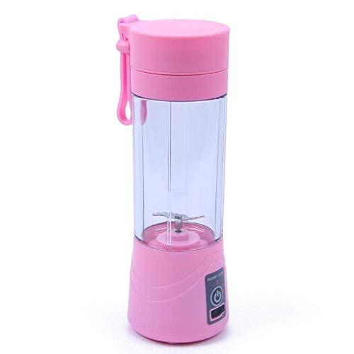 380Ml Usb Recargable Licuadora Exprimidor Portátil Jugo Juicer Máquina Batidora Inicio Mini Extractor de Jugo Fácil de Usar Nutrición Multi Multi Rosa, Ibuprofen