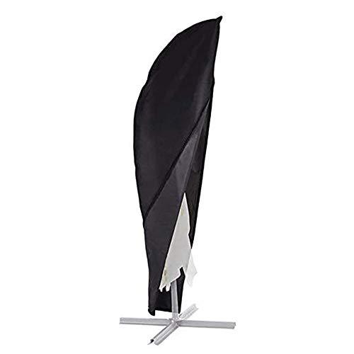Fundas para sombrillas de Jardin Cubierta de sombrilla en voladizo Banana Cubre Parasol voladizo Impermeable Impermeable Resistente al Viento Anti-UV
