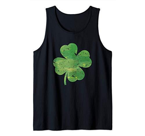 Trbol verde I Trbol I Da de San Patricio Camiseta sin Mangas