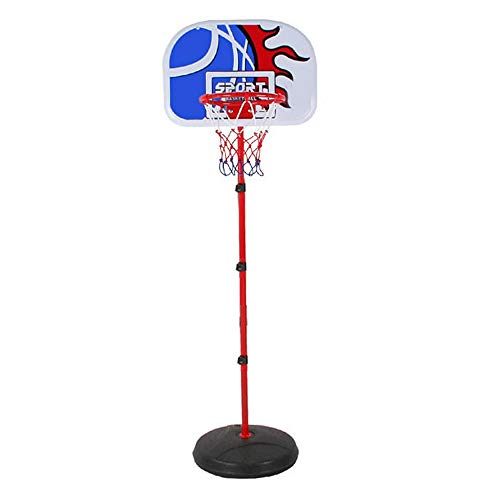 Children's Basketball Stand Children's Basketball Frame can Be Raised and Lowered Shooting Frame Outdoor Home Children's Basketball Frame Portable (Color : Black, Size : One Size)