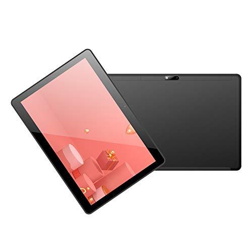 LHONG Tablet 10 Pulgadas Full HD con Ranuras para Tarjetas SIM Dobles Procesador de 8 Cores, 4G + 64GB, Doble Cámara, WI-FI, GPS