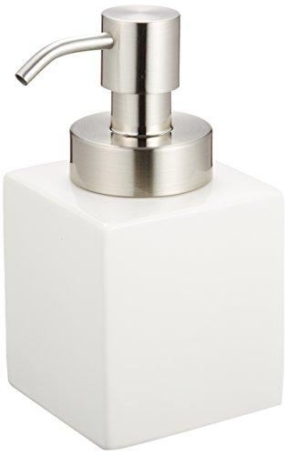 センコー ホワイトキューブ ソープボトル (ムースタイプ) ホワイト