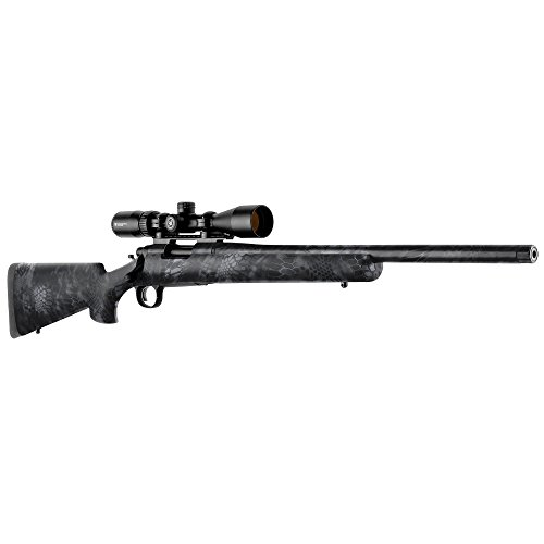 GunSkins Rifle Skin - Premium Vinyl Gun Wrap with Precut Pieces - Easy to Install and Fits Any Rifle - 100% Waterproof Non-Reflective Matte Finish - Made in USA - Kryptek Typhon