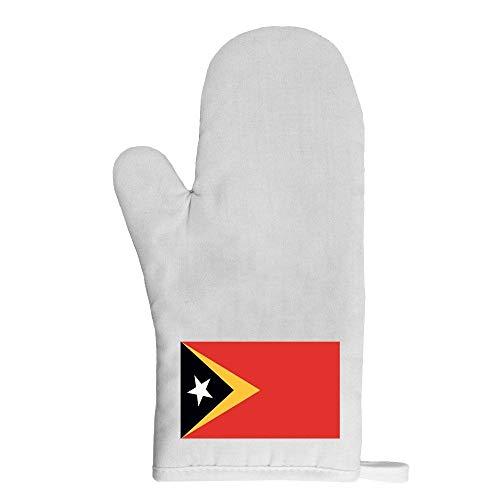 Mygoodprice Ofenhandschuh Topflappen Flagge Osttimor