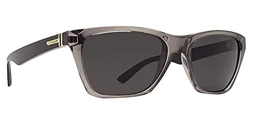 Vonzipper reservante cuadrado gafas de sol, negro (Grey Black Crystal), Talla única