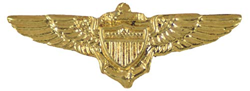 NAVAL AND MARINE CORPS AVIATOR WINGS LAPEL PIN OR HAT PIN - VETERAN OWNED BUSINESS