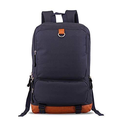 FANDARE Mochila Bolsas Escolares Ordenador Portatil 15.6 Pulgadas Casual Daypacks Bolso Mochilas para Hombres Mujeres Negocio Trabajo Outdoor Viaje Backpack Impermeable Poliéster Azul Oscuro