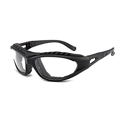 Tears Free Onion Glasses Anti-tear Free Cutting Chopping Eye Protect Cooking BBQ Kitchen Gadget Goggle (black)