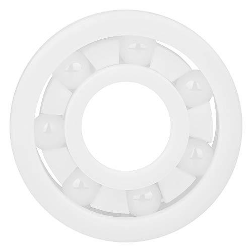 ZrO2-Kugellager, Vollkeramik 609-Kugellager 9 * 24 * 7 mm/0,4 * 0,9 * 0,3 Zoll hochpräzises weißes Miniatrue-Kugellager