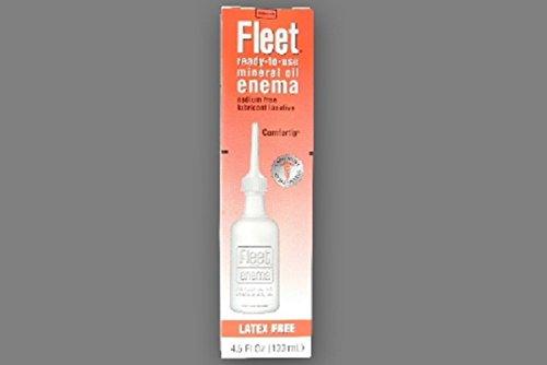 Fleet - Enema - 4.5 oz. - 100% Strength - Mineral Oil USP - McK