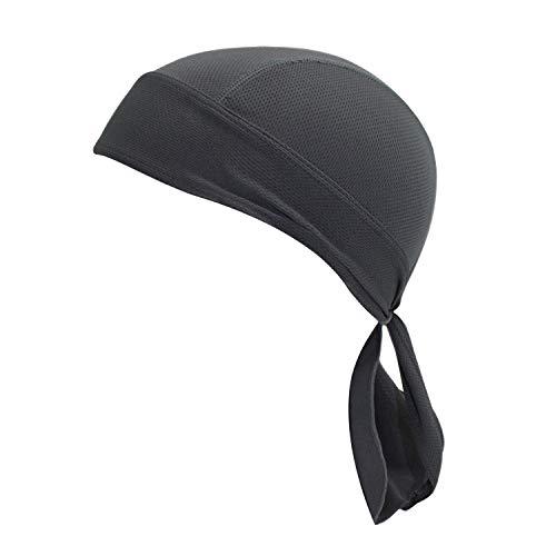 Brave Pioneer Bandana Kopftuch UV Schutz Biker Tuch Bandana Cap Kappe Fahrrad Mütze Piratentuch Beach Kopftuch Baumwolle Unisex Körpererziehung Erwachsene (hell gelb)