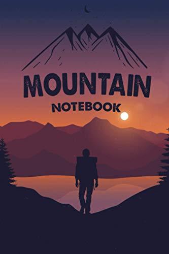 Mountain Notebook: Adventure Notebook, bike mountain, mountain warehouse, cold mountain