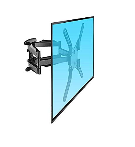 Gadget Wagon Dual Arm 43-60 Inches LCD/LED/Plasma TV Corner Cantilever Full Motion Panel Swivel Tilt Wall Mount