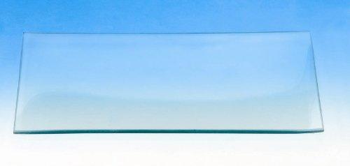 Glasteller rechteckig 13x27cm