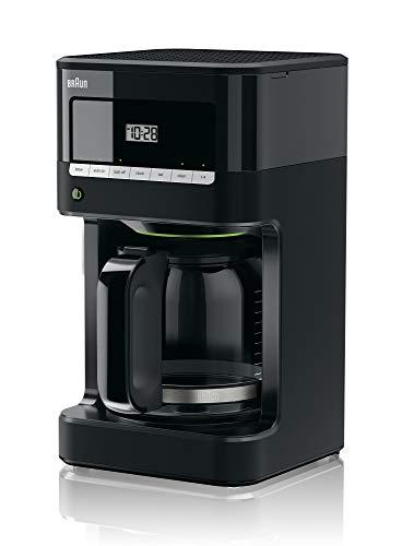 Braun KF7000BK Brew Sense Drip Coffee Maker, Black (Renewed)