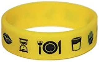 Bracelete Pictos (Amarelo PP, 15cm)