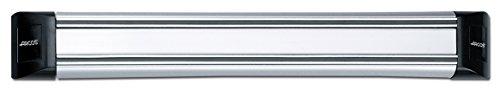Arcos Soportes Magnéticos, Soporte Magnético para Cuchillos, Hecho de PVC, Acero y ABS 300 x 45 mm, Color Gris y Negro