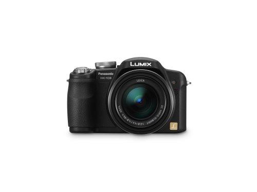 Panasonic Lumix DMC-FZ28K 10MP Digital Camera with 18x Wide Angle MEGA Optical Image Stabilized Zoom (Black)
