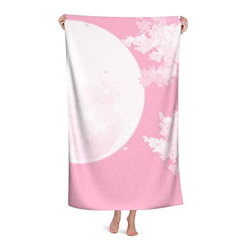 Toallas de playa personalizadas, polvo estético personalizado microfibra toalla toalla 31 x 51 pulgadas