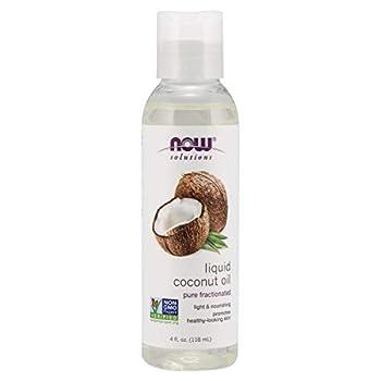 NOW Solutions Liquid Coconut Oil 4 Fl Oz