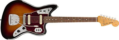 Fender Vintera 60s Jaguar 3-Tone Sunburst PF with gig bag