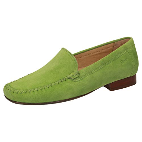 Sioux Damen Slipper Campina 63125 grün 816928