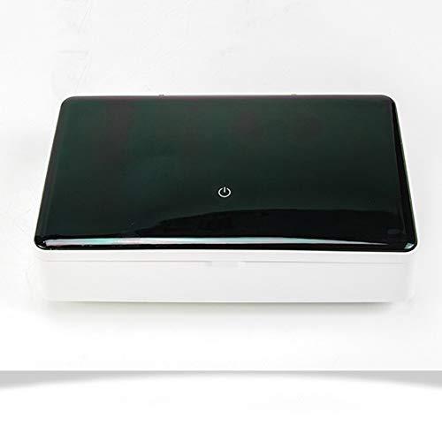 Pannow UV Sterilizer Box, UV Telefoon Sanitizer Huishoudelijke Sterilizer Doos Multi-Functie Desinfectie Doos voor Slimme Telefoon Sieraden Horloges