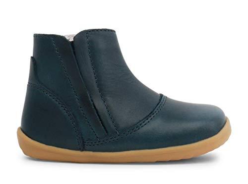 Bobux Step Up Shire Merino Lined Winter Boot_Primeros Pasos - Una Bota de Piel, Forro de Lana Merino, Suela Flexible y Resistente, Cierre Cremallera