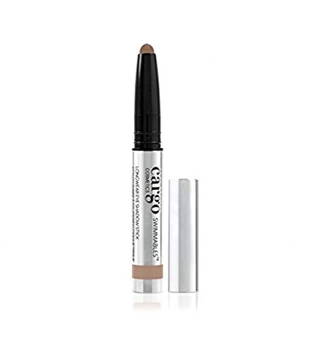 Cargo Cosmetics - Swimmables Longwear eyeshadow stick, Water Resistant, Budgeproof, Smudge-Proof, Transfer-Proof, Crease-Proof, Sandy Bay